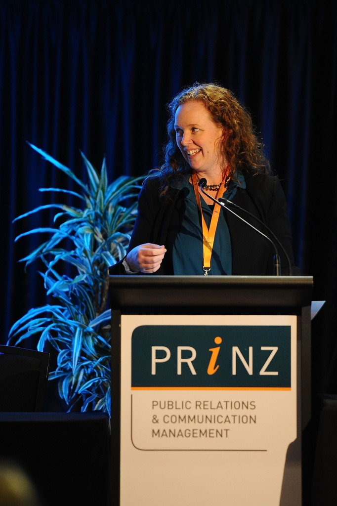 WELLINGTON, NEW ZEALAND - MAY 21:  during the annual Public Relations Institute of New Zealand Conference on May 21, 2015 in Wellington, New Zealand.  (Photo by Mark Tantrum/Getty Images)