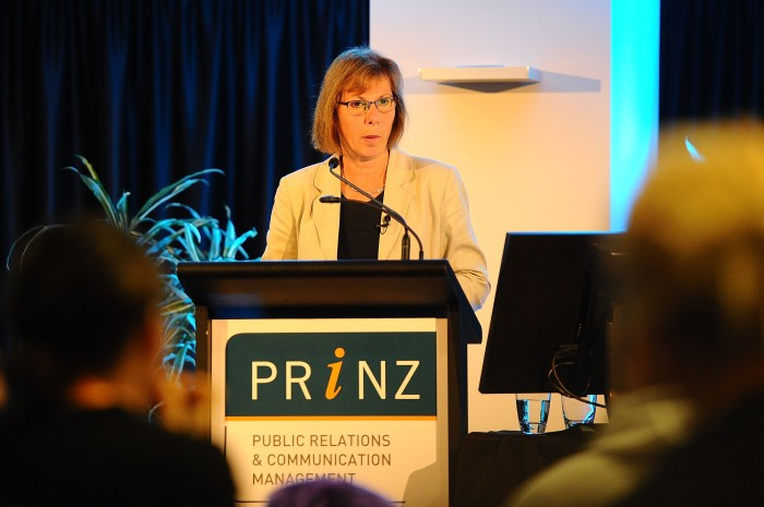 WELLINGTON, NEW ZEALAND - MAY 22:  during the annual Public Relations Institute of New Zealand Conference on May 22, 2015 in Wellington, New Zealand.  (Photo by Mark Tantrum/Getty Images)